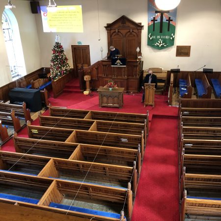 Inside Legacurry Church