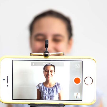 recording a video on your phone